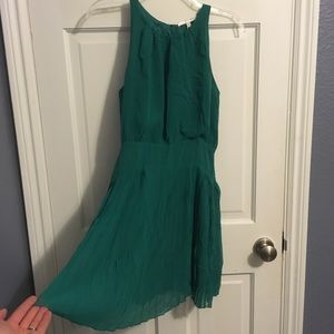 Lavender Brown green dress. NWT